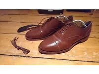 Samuel Windsor Handmade Leather Shoes Size 9-10 UK