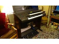 Yamaha Electone EL25 electronic organ. Excellent condition, full working order