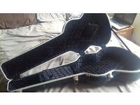 Kinsman Classic/Small Western Guitar Hard Case, as new.