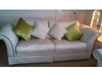 DFS 4 Seater Sofa & two 2 Seater Sofas For Sale