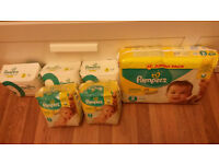 Nappies for sale (worth 25 pounds) for only 15 pounds