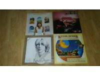 5 x kevin ayres - joy of a toy / shooting at the moon / odd ditties / yes we have / vinyl LP's