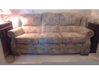 Pristine, quality three piece suite from Stoker's Ormskirk. Buyer to collect please.