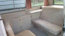VW Dormobile camper van interior reasonable condition £550