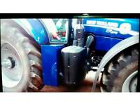 New holland T7 sidestep toolbox