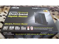 Asus RT-N56U - 600Mbps - Dual Band Wireless N Router. 802.11n (2.4GHz and 5GHz)