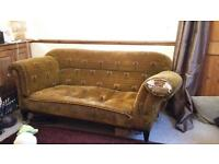 Upholstery project-FREE to a good home! Sofa