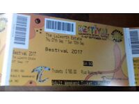 2 bestival tickets for 340 pounds or nearest available offer