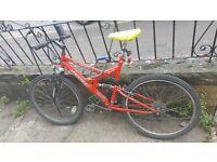 Bike full suspension