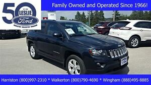 2014 Jeep Compass North 4X4 | LOW KMS | Leather