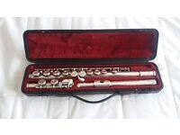 Flute yamaha 311 solid silver head