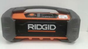Ridgid Jobsite Radio with Bluetooth (1) (#51960) (SR91448) We Buy and Sell New and Used Tools!