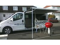 vauxhall vivaro campervan 2013 lwb brand new conversion 2 berth never used