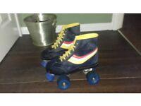 Vintage roller boots size 5