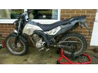STOLEN RECOVERD derbi cross city 125