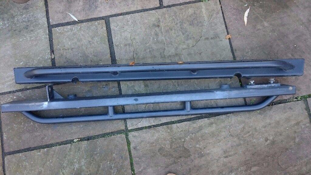 Defender 90 side rails