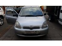 Bargin!! Hi im selling my toyota yaris tax and mot it has low mlieage cheap on insurnce only £850