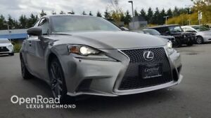 2014 Lexus IS 250 F - Sport Premium Package - One Owner