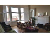 Large bedroom in homely southside flat(summer let)