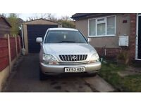 Lexus rx 300 Gas converted leaTHer seats tow bar etc etc