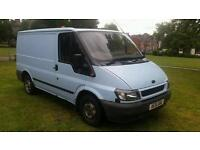 Ford transit swb moted cheap work horse