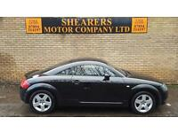 + AUDI TT WITH FSH T BELT DONE £2990 +