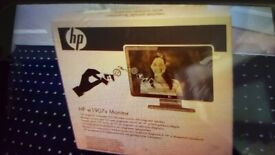 HP Wide-screen Monitor. Brand New boxed.
