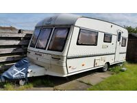 Family 4 berth caravan for sale! Everything included! Immaculate van! ��2000 OVNO