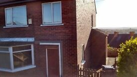 3 bed large semi detached house to rent.