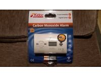 Kidde Carbon Monoxide Alarm with digital screen and 10-year warranty