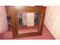 Next large wooden mirror