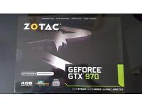 Zotac gtx 970 Brand new unopened