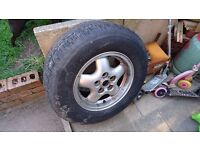 Range Rover p38 DSE, Stereo, CD changer, Alloy wheel