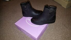 Black women's Graceland boots. Brand new in box. Size 5.