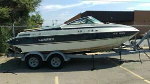 inboard/outboard boat for sale (NO TRAILER AVAILABLE)
