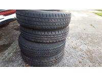4x165xr13/83t tyres