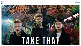 Take That x2 seated tickets. Carrow road 15/6/17