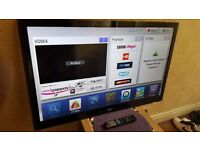 "LG 42"" FULL HD 1080p LED TV with built in Freeview HD, 4 x HDMI, NO BASE STAND"