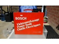 VINTAGE**BOSCH**JIGSAW**COMES WITH OFFICIAL BOSCH SAW BLADE**RETRO**VERY RARE**EXCELLENT CONDITION**