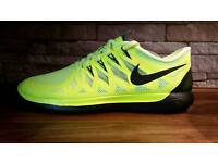 Nike Free 5.0 2014 Volt / Black Men's Running Trainers Size 10