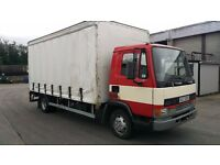 DAF 45 150TI Curtain Sider with tail lift