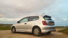 Honda civic type r replica. Great reliable car!
