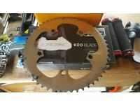 Shimano Dura Ace 10 speed SG-X 53 B front chain ring excellent condition