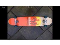 Indiana skateboard | Longboard | Angelo Schmitt | Handmade