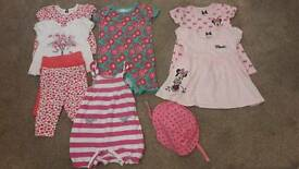 Baby girl bundle 3-6