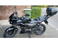 2014 Honda CBF125 with TopBox for Sale (1650 GBP)