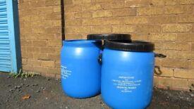 50L plastic tub/ plastic container