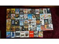 52 DVDs for sale job lot