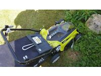 Ryobi 36v Rechargeable lawnmower (faulty battery or charger)
