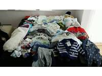 Baby clothes 90+ new items 0-6 month
